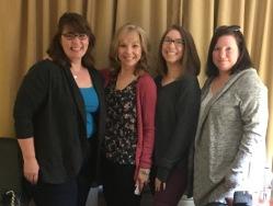 Cousins: Deb, Kindy, Kristi, and Wendy