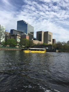 Duck Boat on the river