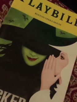 Wicked play bill