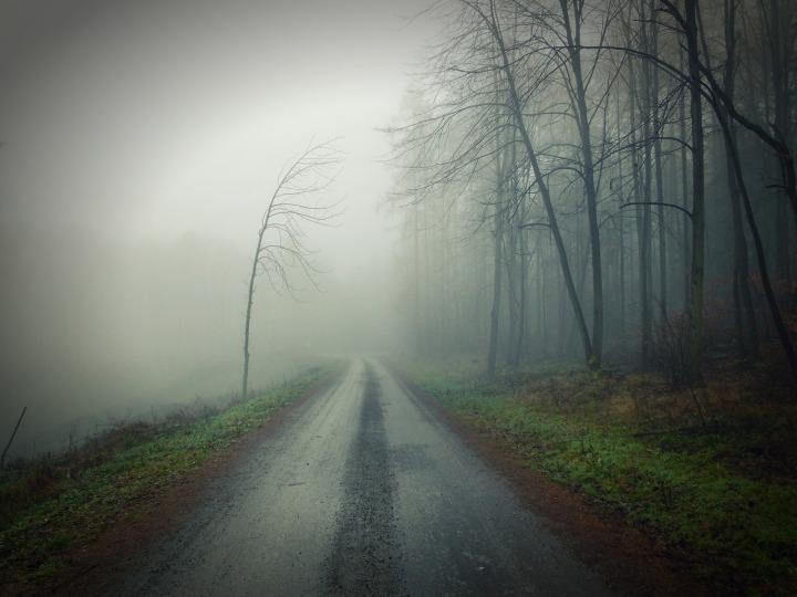 When the road turnsdark…