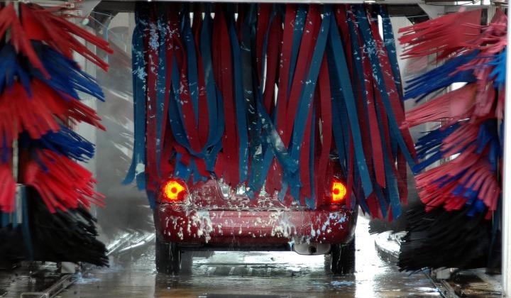 A clean car…
