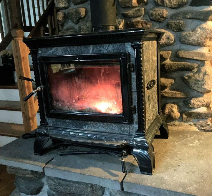 Wood stove…