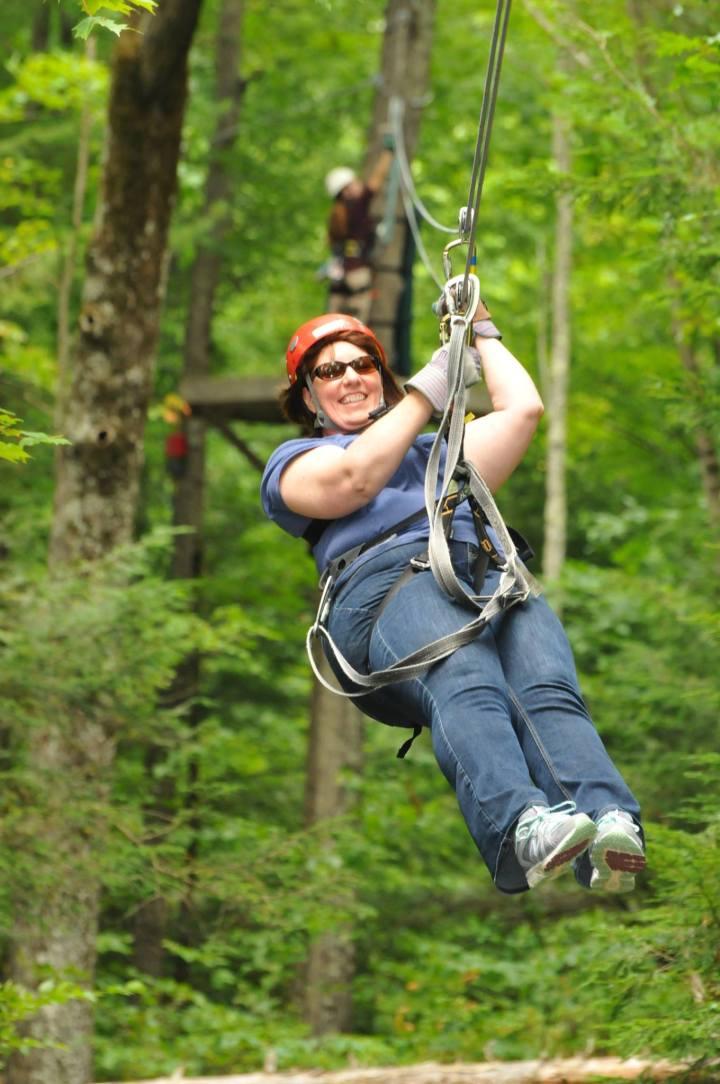 Deb Zip Flying
